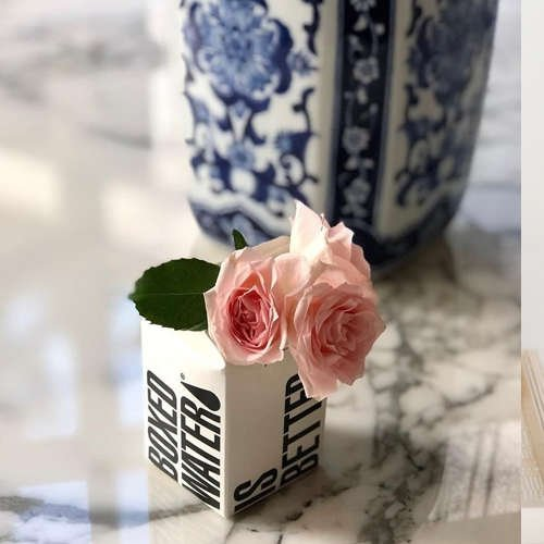 Boxed Water Floral Display