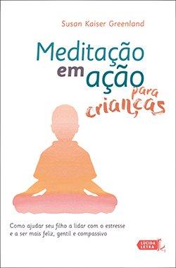 Capa Meditação em ação para crianças