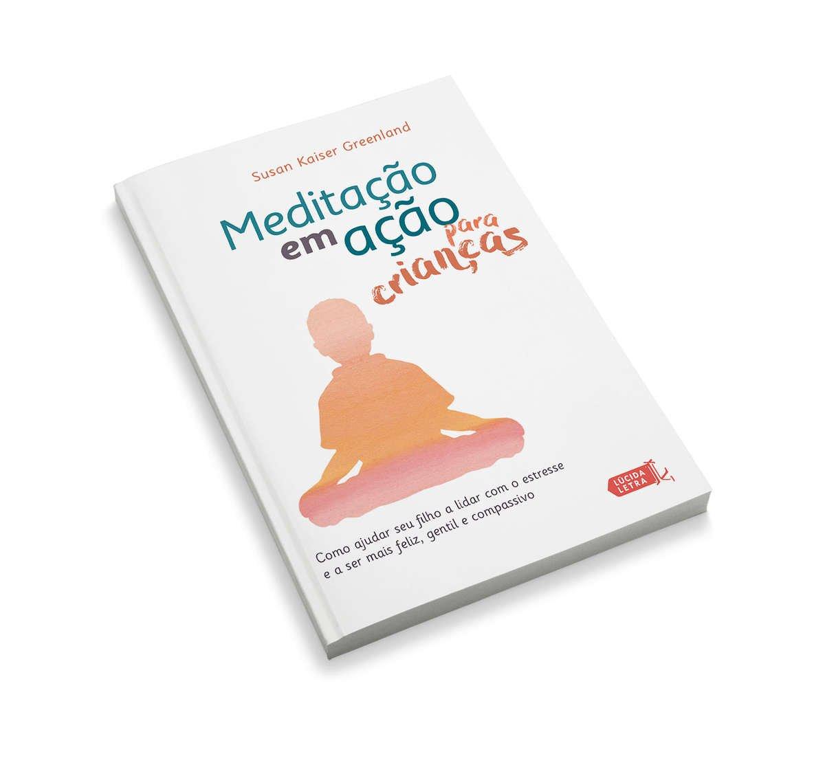 Capa do livro Meditação em ação para crianças