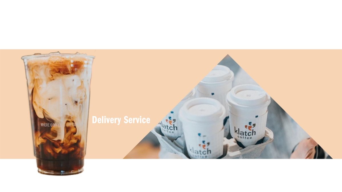 delivery with klatch coffee