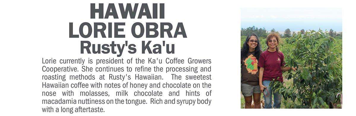 Hawaii Rusty's Ka'u