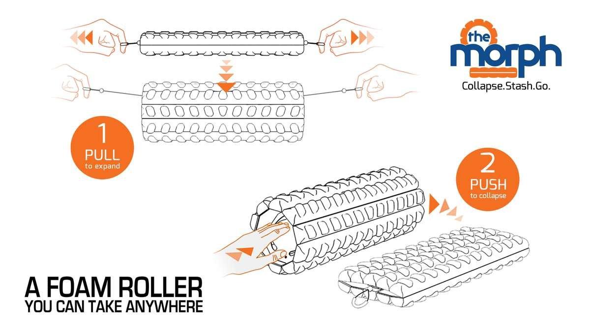 Brazyn Morph Collapsable Roller