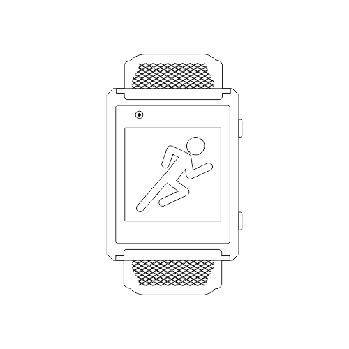 health smartwatch actofit