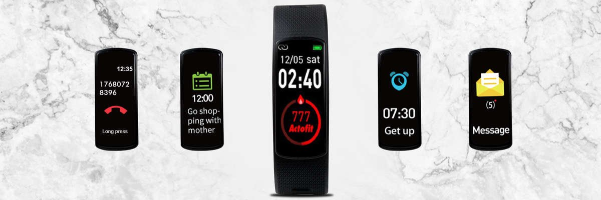 Fitness tracker, Fitness band, Actofit Fitness band, Actofit Impulse