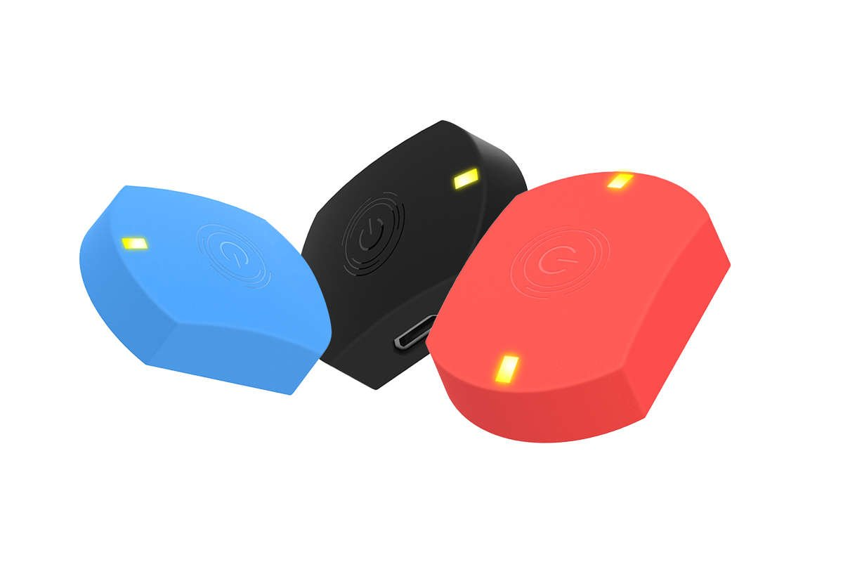 Actofit badminton tracker Red blue black