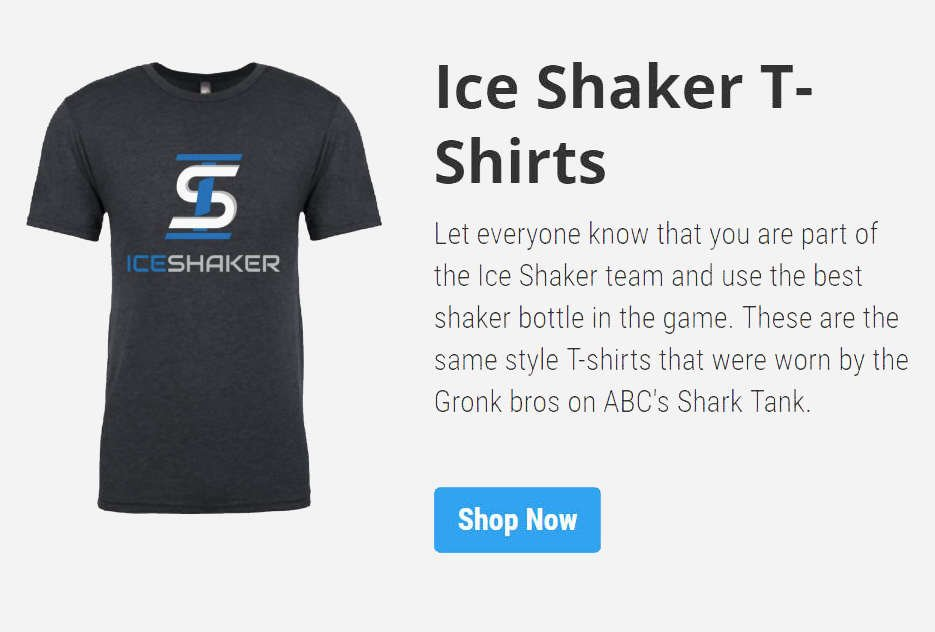 Ice Shaker T-shirts