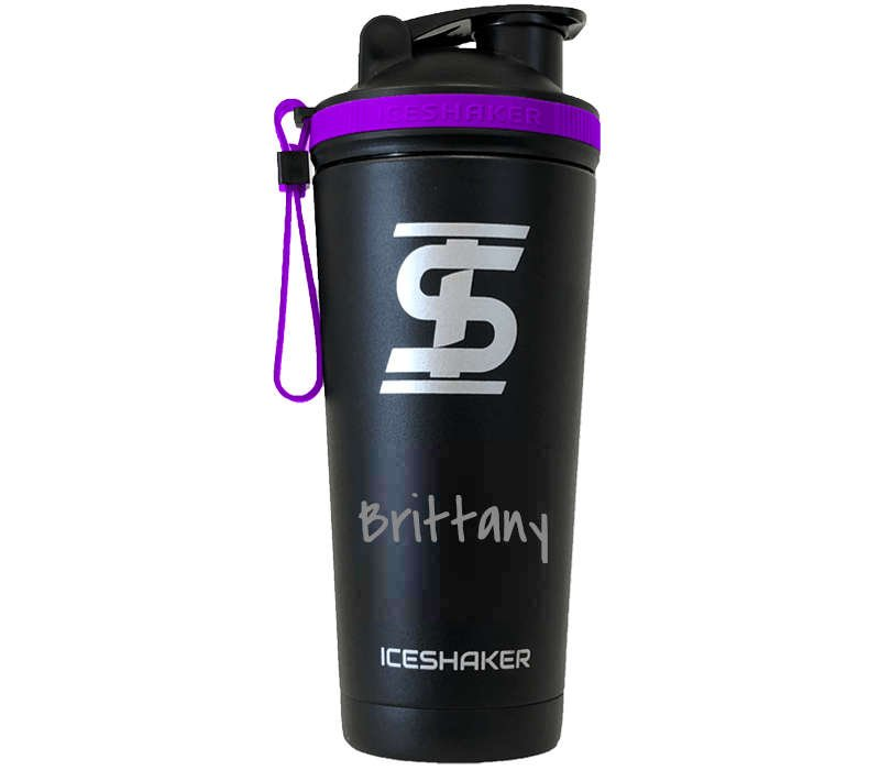 Engraved Purple Shaker