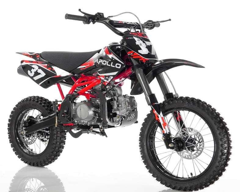 Apollo 37crf-2 Dirt Bike 125cc Red