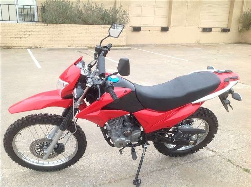 RPS Hawk 250cc Dirt Bike RED