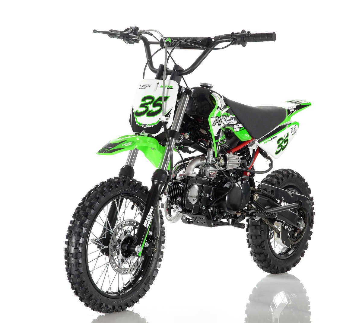 Apollo 35 Dirt Bike 125cc Green