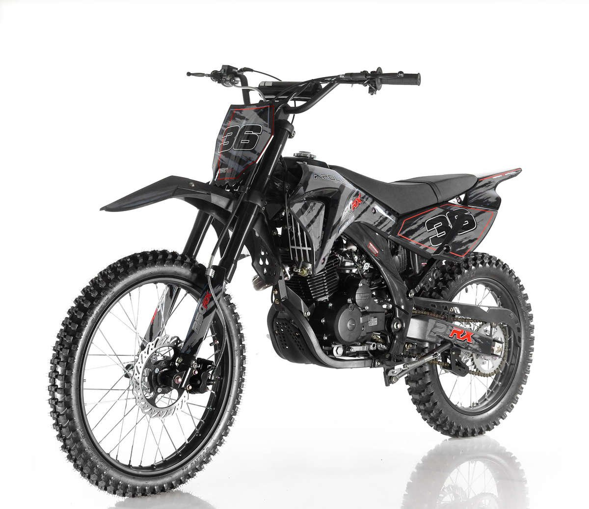 Apollo 36 Dirt Bike 250cc Black