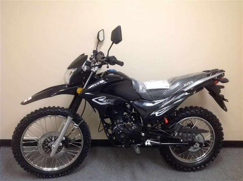 RPS Hawk 250cc Dirt Bike BLACK
