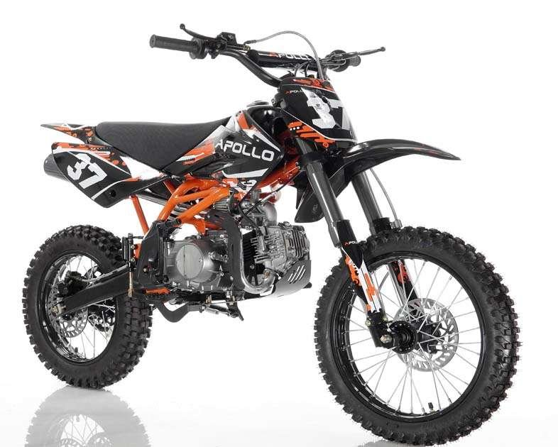 Apollo 37crf-2 Dirt Bike 125cc Orange