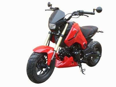 Ice Bear Fuerza 125cc Motorcycle Red