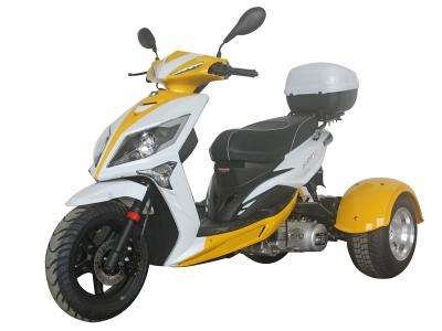 Ice Bear Mojo 150cc Trike Yellow/White