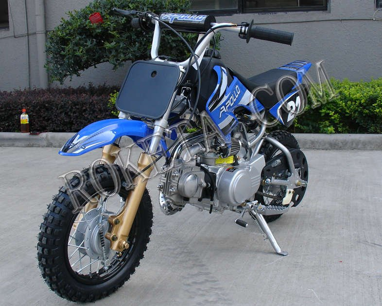 Apollo 21C Dirt Bike 70cc Blue