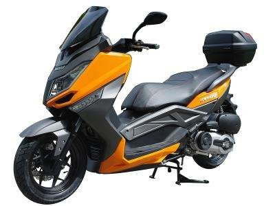 Ice Bear 300-T9 300cc Scooter Orange/Black
