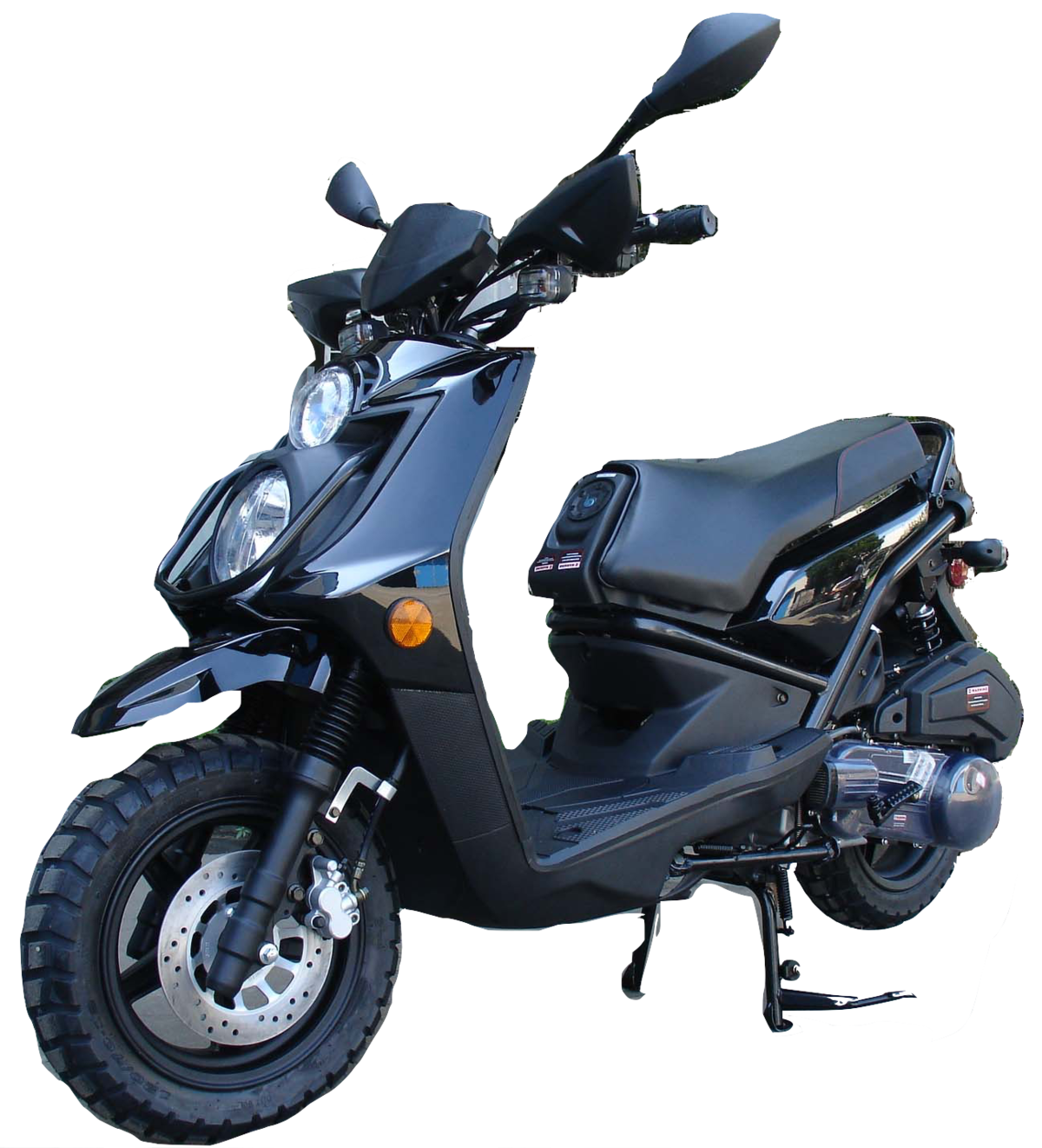 Roketa 119 Scooter 150cc Black