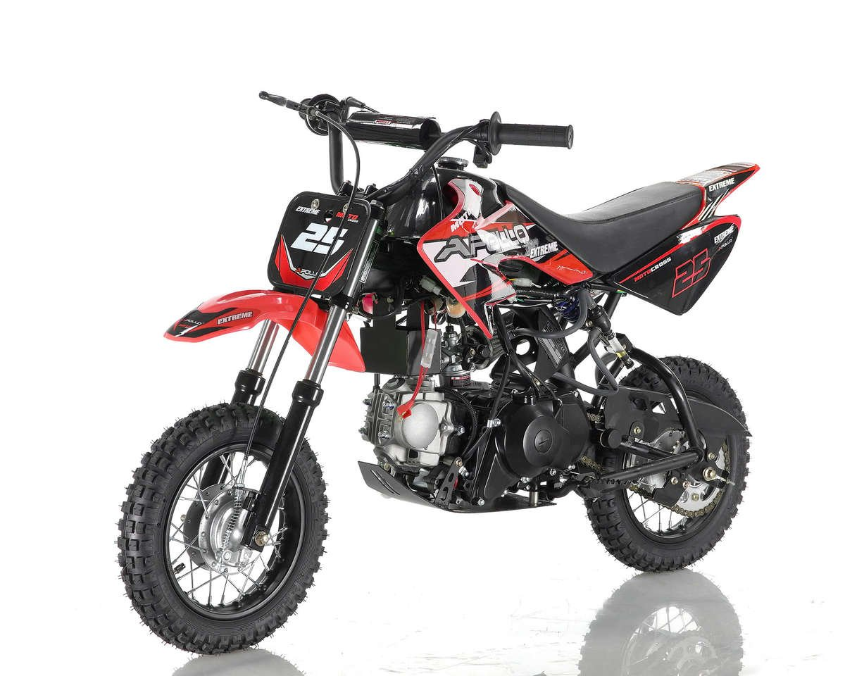 Apollo 25 Dirt Bike 70cc Red