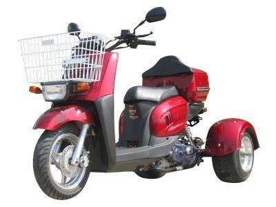 Ice Bear Mini Cruzzer 50cc Metallic Red