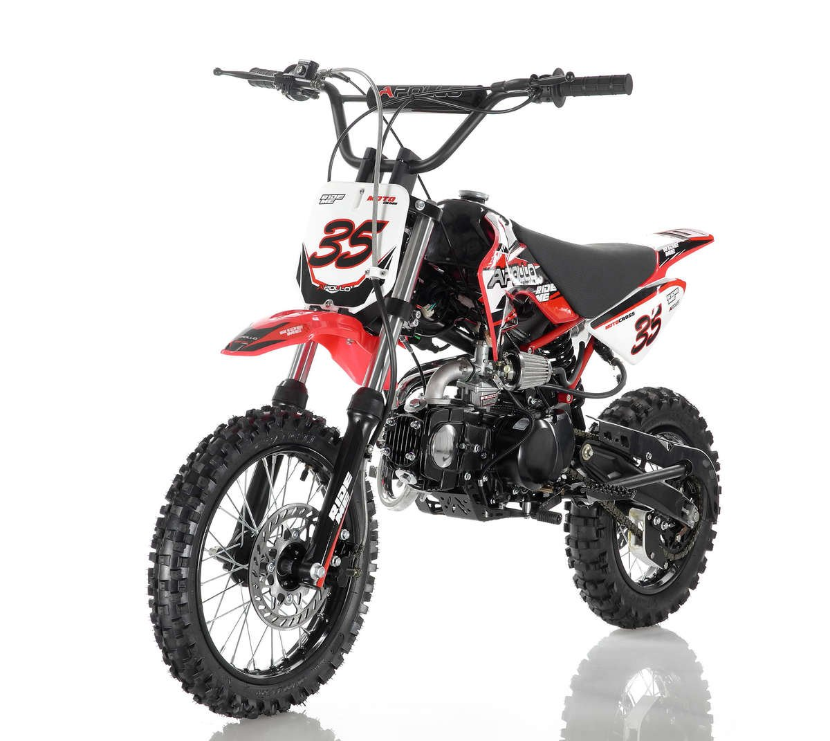 Apollo 35 Dirt Bike 125cc Red