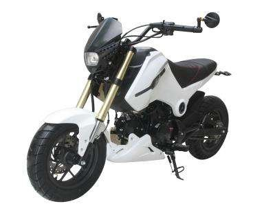 Ice Bear Fuerza 125cc Motorcycle White