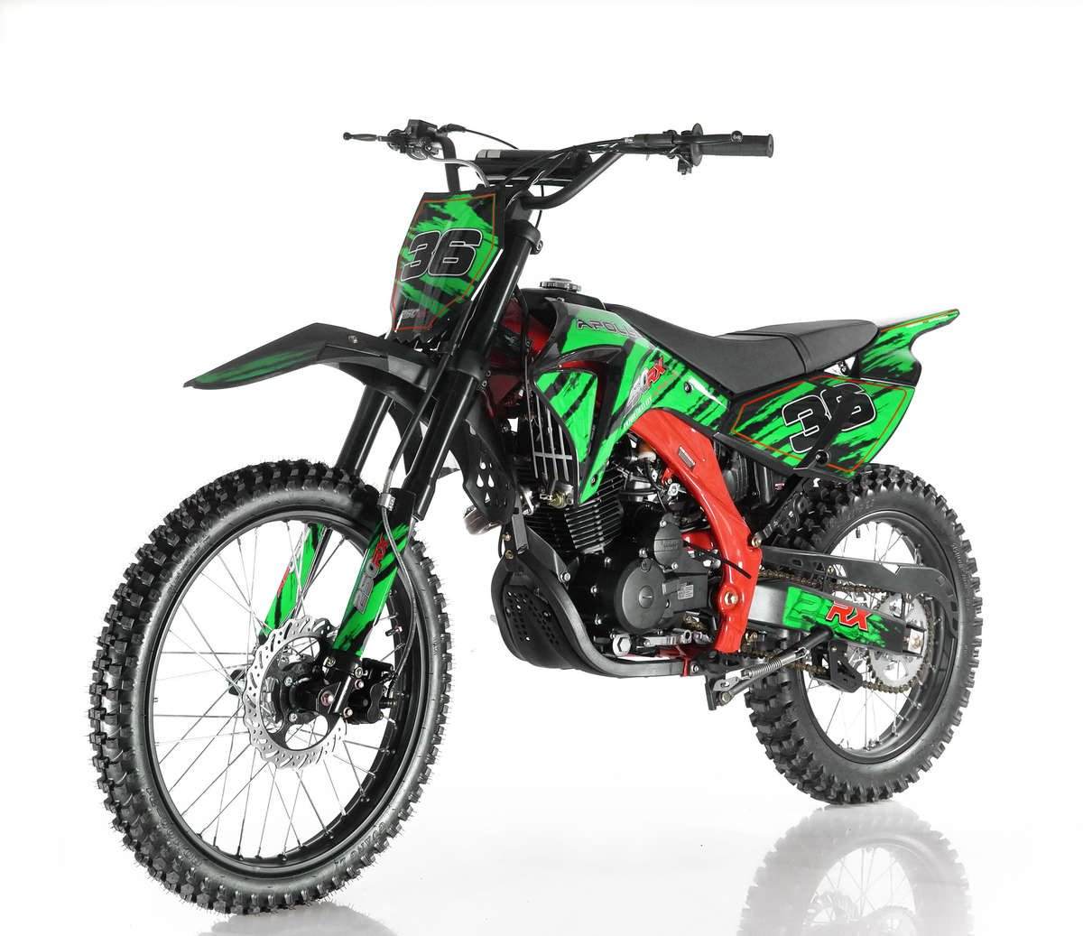 Apollo 36 Dirt Bike 250cc Green