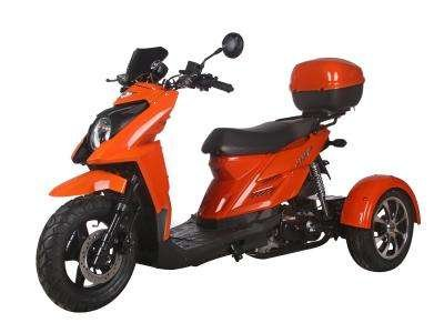 Ice Bear Shark 50cc Trike Orange