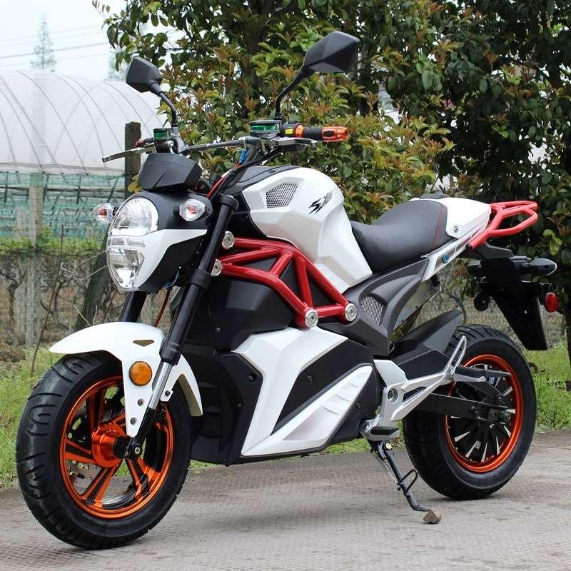 Dongfang SRT Motorcycle 2000E White