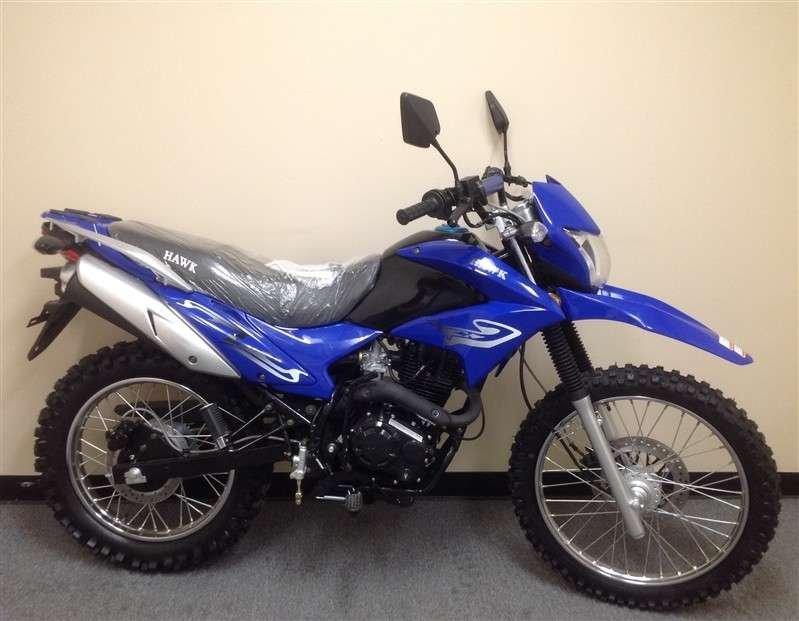 RPS Hawk 250cc Dirt Bike BLUE
