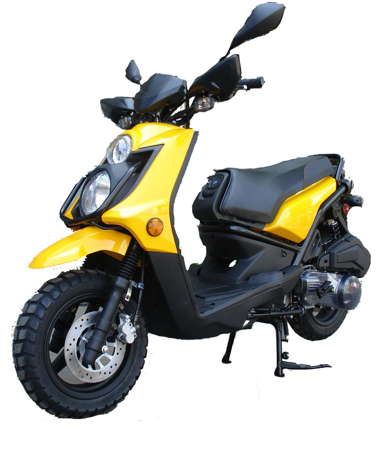 Roketa 119 Scooter 150cc Yellow