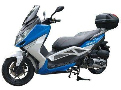 Ice Bear 300-T9 300cc Scooter Blue/White