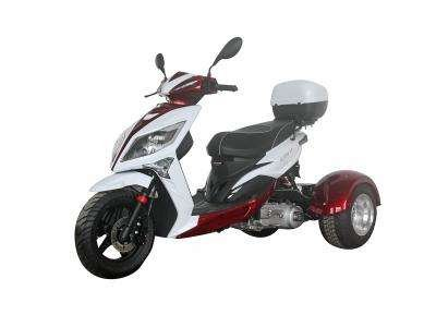 Ice Bear Mojo 150cc Trike Burgundy/White