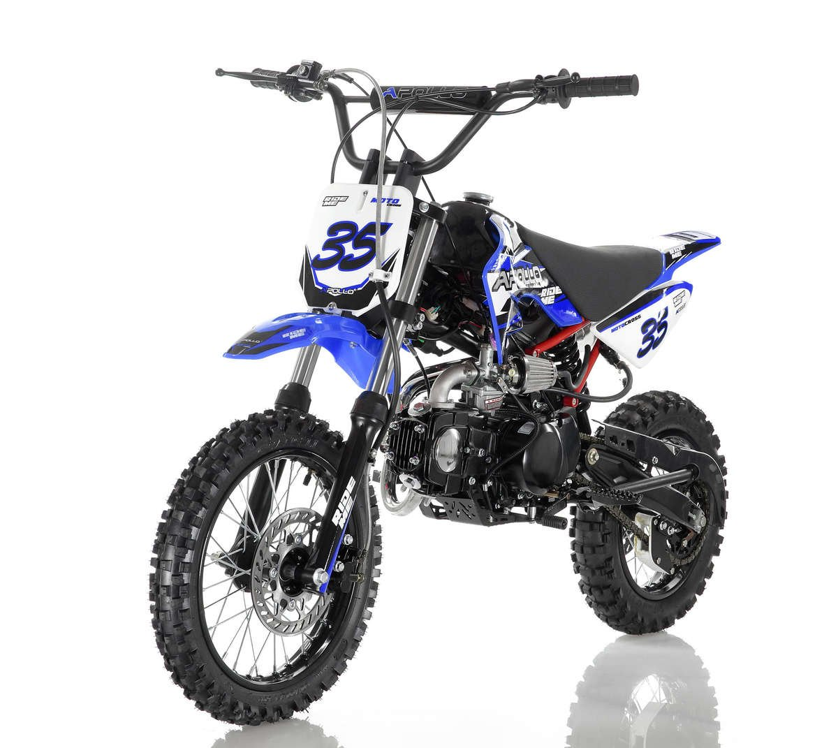 Apollo 35 Dirt Bike 125cc Blue