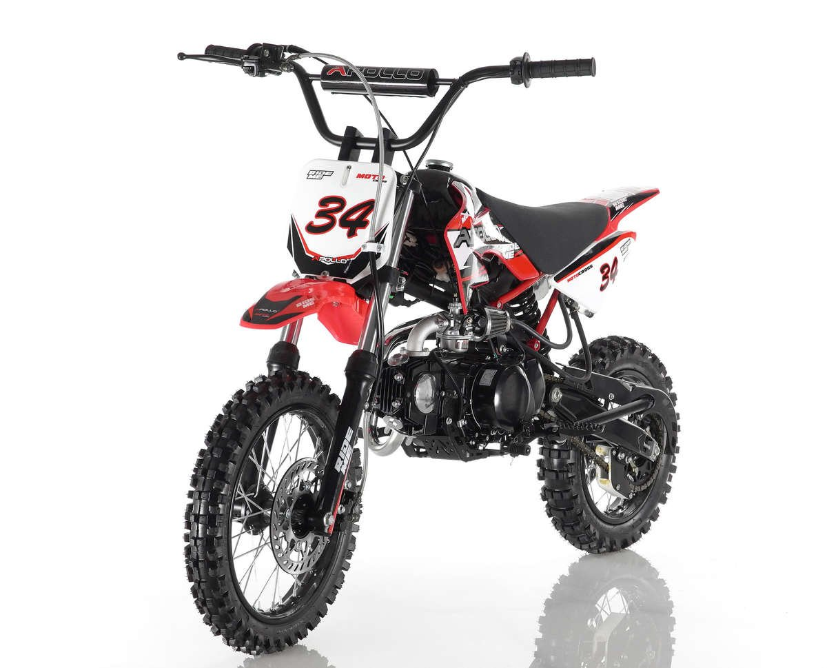 Apollo 34 Dirt Bike 110cc Red