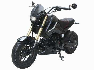 Ice Bear Fuerza 125cc Motorcycle Black