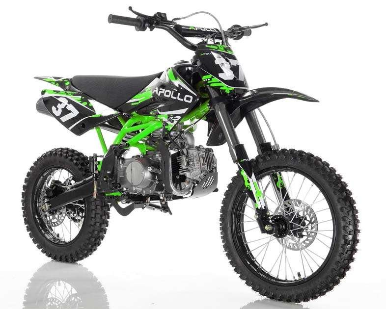Apollo 37crf-2 Dirt Bike 125cc Green