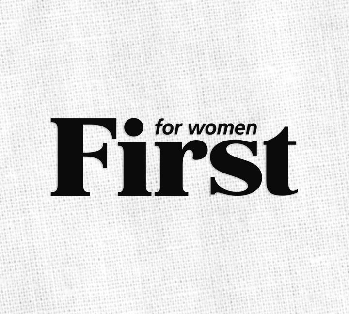 first for women logo