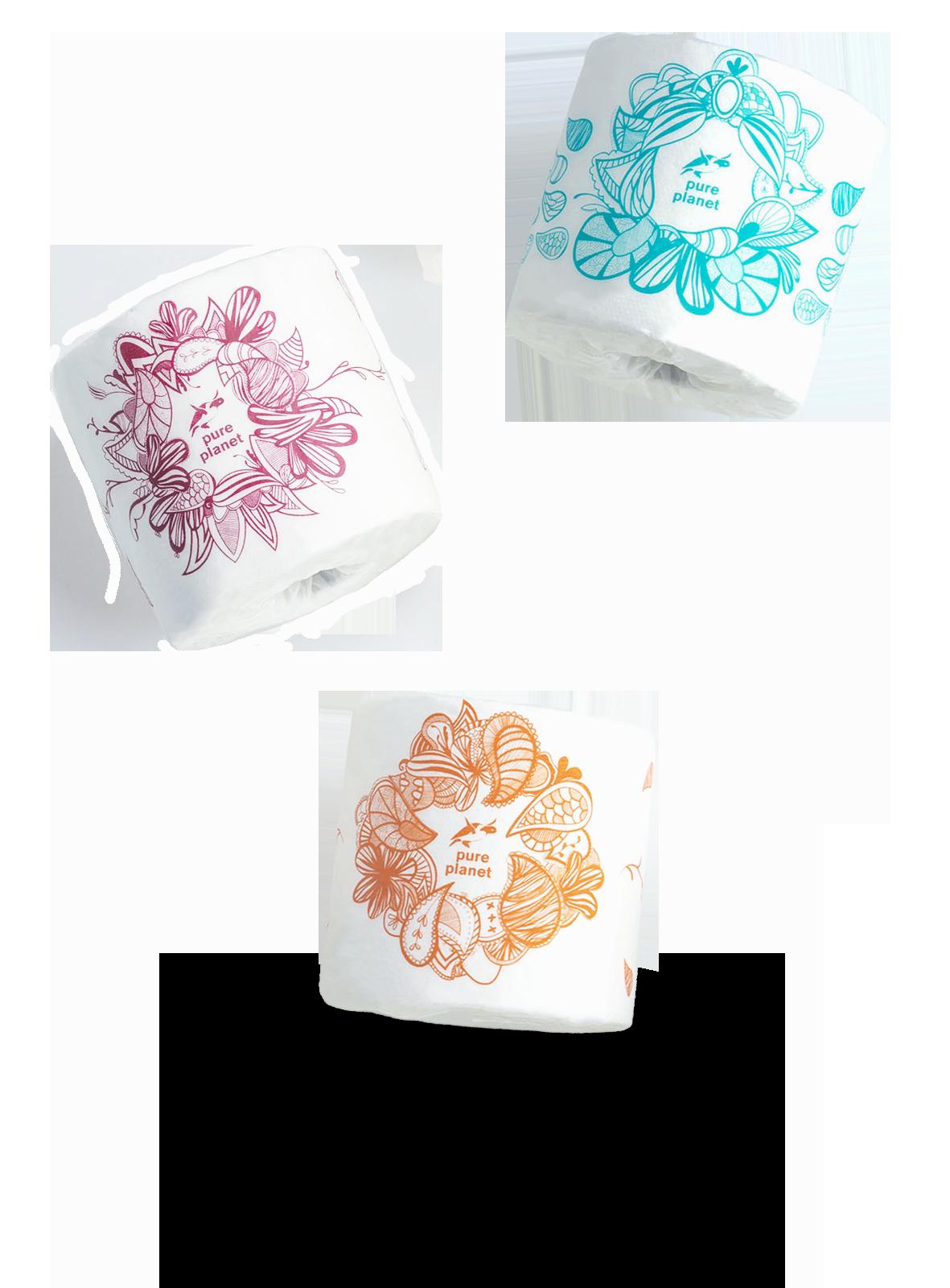 Pure Planet toilet paper