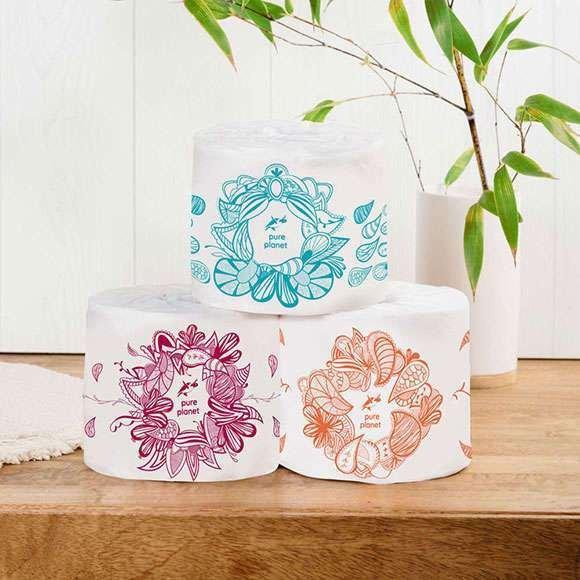 Tree-free, Plastic-free Toilet Tissue
