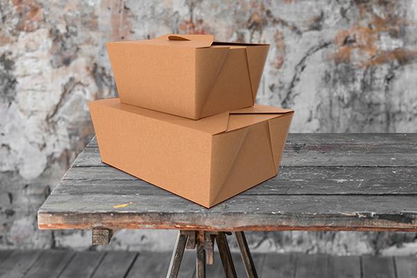 cajas para enviar comida