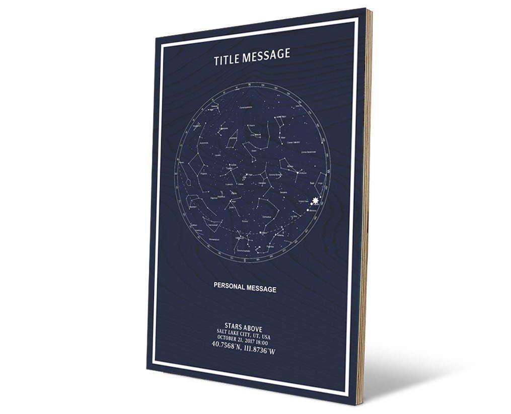 the night sky star maps