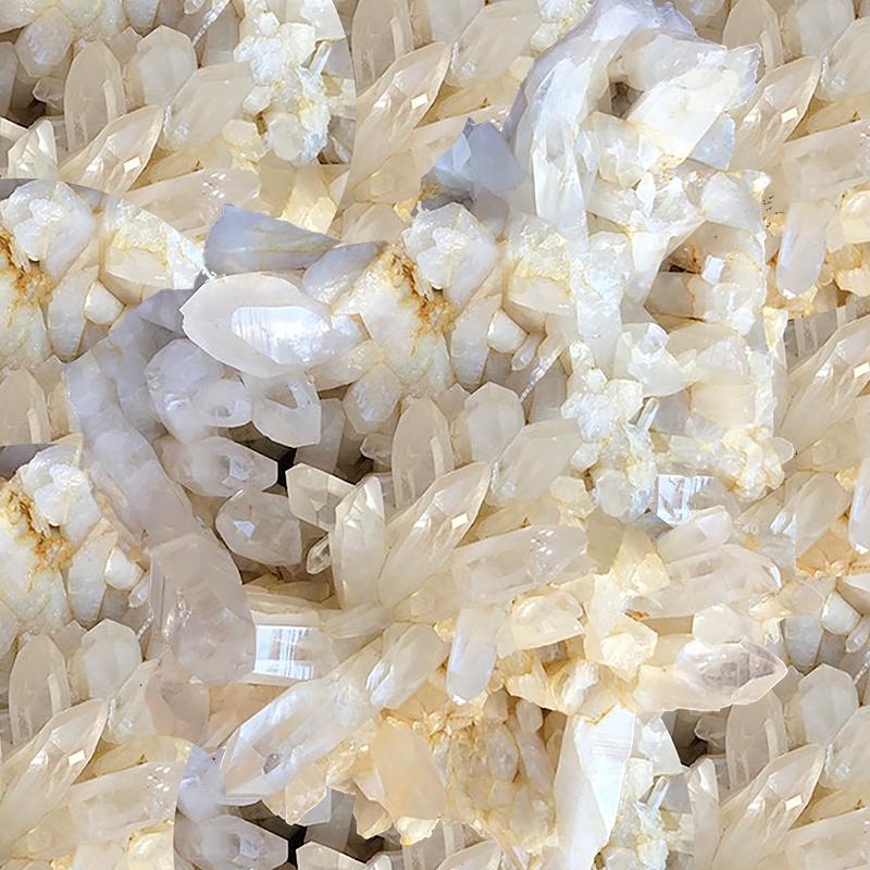 silica crystals
