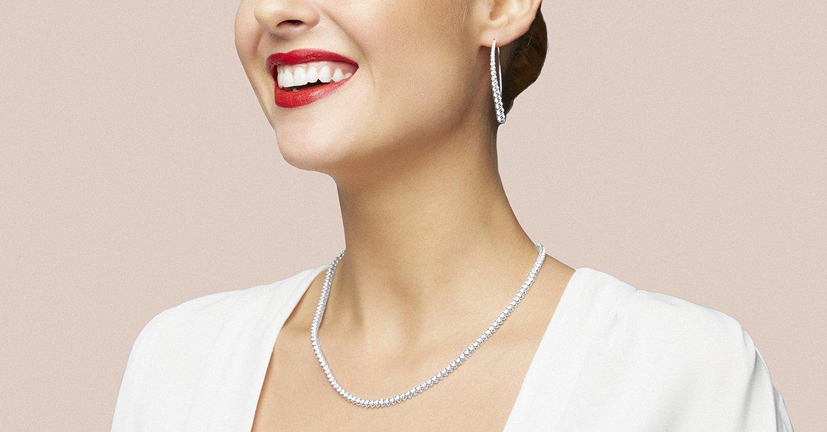 Colección Brilliant de joyas de plata con circonitas