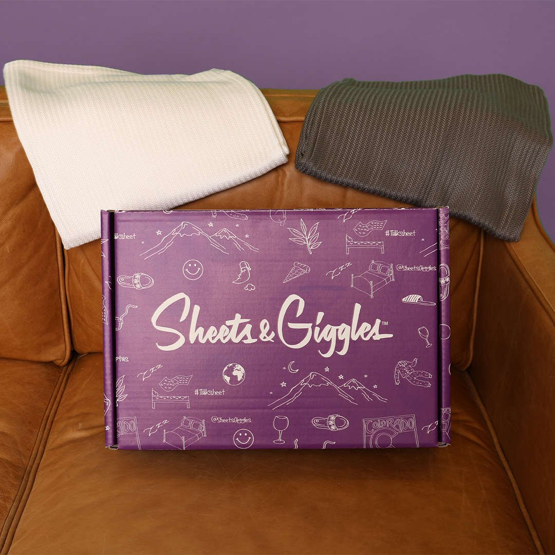 Sheets & Giggles Packaging