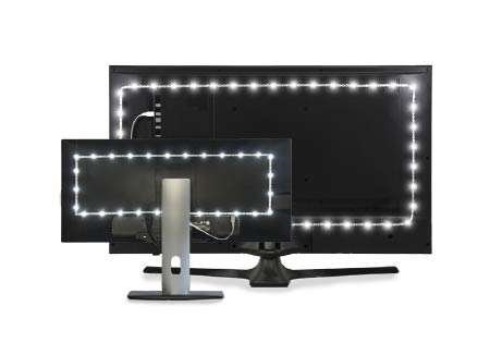 bias lighting for your television and monitor
