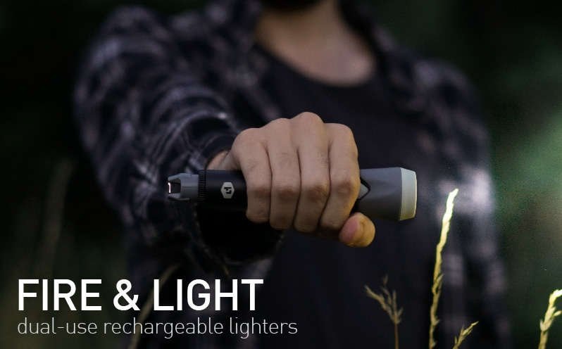 Power Practical Sparkr Flashlight and arc lighter
