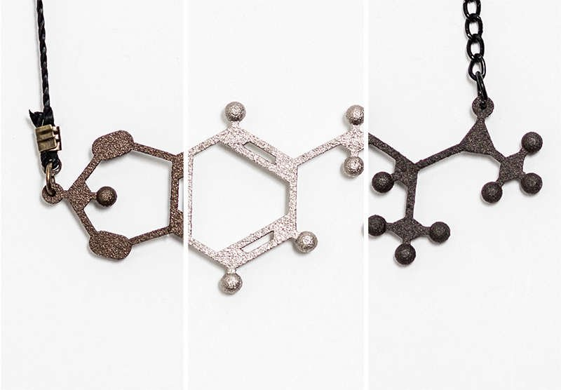 MDMA pendant is available in multiple materials