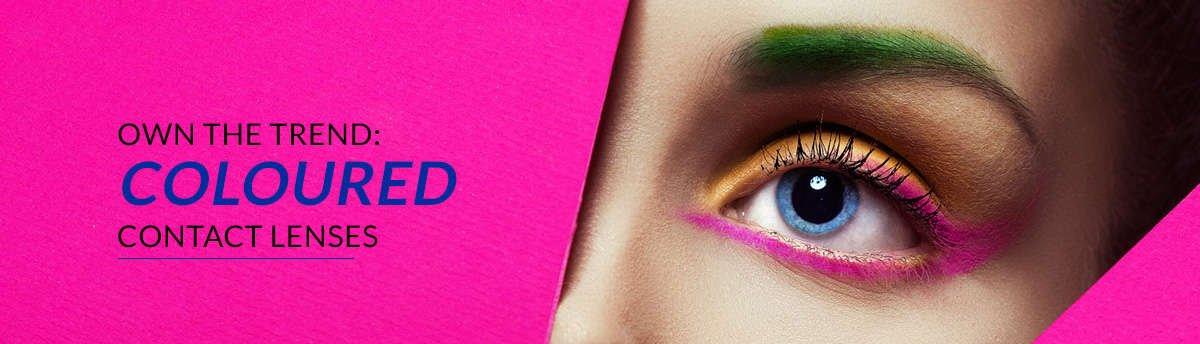 Afbeeldingsresultaat voor funky contact lenses banner