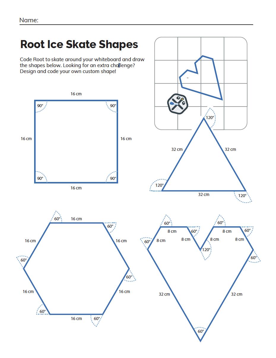 Challenge sheet